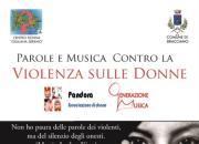Parole e Musica contro la violenza sulle donne