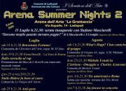 Generazione Musica all'Arena Summer Nights 2 a Ladispoli - 31 luglio - Serata dedicata a Fabrizio De Andrè