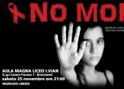 25 novembre - Generazione Musica contro la violenza verso le donne: NO MORE 2.0