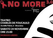 NO MORE 3.0: serata fantastica di arte e cultura contro la violenza di genere!