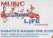 MusicLife: musica e storie per la ricerca oncologica - 5 maggio 2018